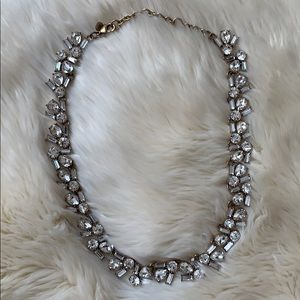 J crew crystal jeweled necklace